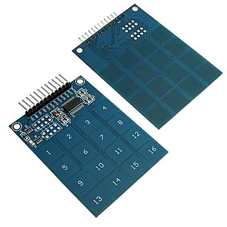 TTP229-16-Channel Touch-Sensor