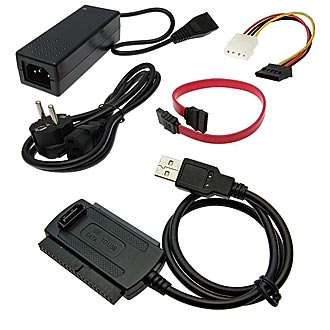 USB 2.0 to IDE/SATA 2.5/3.5