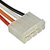 MHU-04 wire 0,3m AWG22