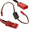 JST switch ext. leads 22AWG 10CM